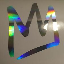 "Mammoth Mountain MM Ski Snowboard Oil Slick 5"" Custom Vinyl Decal Sticker JDM"
