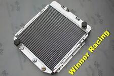 aluminum radiator for Ford Falcon Mercury Comet 2.4L 2.8L 3.3L L6 AT 60-65 62 63