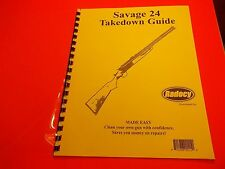 TAKEDOWN MANUAL GUIDE SAVAGE 24 OVER / UNDER