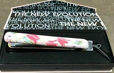 Evalectric 100% Ceramic Luxury Hair Flat iron/Hair Straightener -Sweet N' Flower