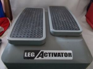 Leg activator for seated exercise
