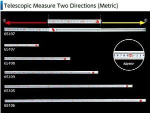 SHINWA Telescopic Measure Two Directions A 95 cm 65107