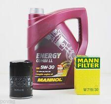 5 L MANNOL Energy Combi LL 5W-30 Longlife MANN Ölfilter Audi TT 8N 1,8T