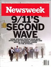 NEWSWEEK 9.16.2016 9/11's SECOND WAVE Sexual Harassment in the Media SPACE RACE