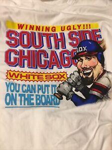 2021 Chicago White Sox Winning Ugly T-Shirt SGA 7/16/21 NEW