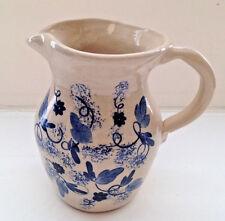 Vintage SR. Pottery Pitcher Lawrence Houston Artist Texas