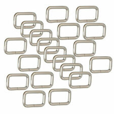 Rectangle Metal Square D ring Welded Dee Ring Buckles Leather Hand Bag Craft Diy