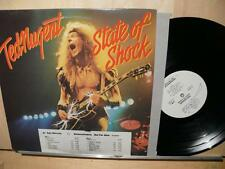 Ted Nugent: State Of Shock (strongVG++ WLP Gold Stamp PROMO LP) INNER