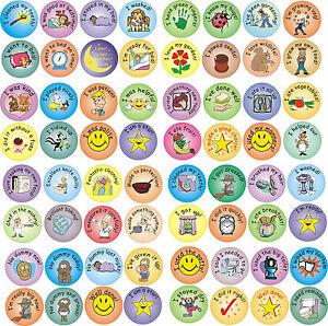 Various reward stickers - behaviour, potty, dummy, eating, bedtime, cooking etc.