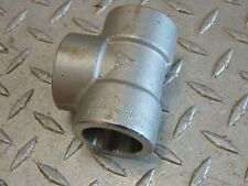 """1"""" 3000# 3M 304 Stainless Steel Socket Weld Tee """"New other"""""""