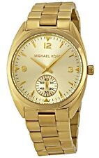 Michael Kors MK3344 Callie Champagne Dial Gold Tone Stainless Steel Watch