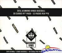 2019 Panini Diamond Kings Baseball Factory Sealed JUMBO FAT Pack Box-240 Cards