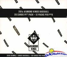 2019 Panini Diamond Kings Baseball Factory Sealed JUMBO FAT Pack Box-240 Cards