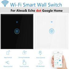 ohne Rahmen Wlan Lichtschalter mit Smart Home Wechselschalter innen App Alexa