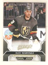 ALEC MARTINEZ 2020-21 UD MVP BASE CARD #4 GOLDEN KNIGHTS