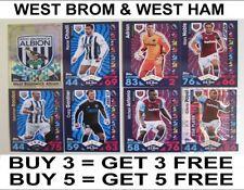 West Ham United 2016-2017 Football Trading Cards
