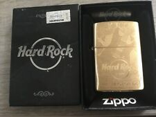 ZIPPO BRASS HARD ROCK CAFE WASHINGTON DC
