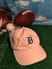 141ca37b85d Detroit Tigers Baseball Hat Cap Ladies Pink H20