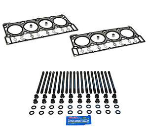 ARP 6.0L Ford Powerstroke Diesel Head Stud Kit Head Gaskets For 03-06 Ford 6.0L
