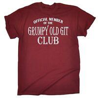 Funny T-Shirts Men's Grumpy Old Git T Shirt Dad Grandad Uncle birthday tshirt