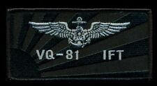 JMSDF VQ-1 IFT Japan Navy Pilot Nametag Wing Patch J-9