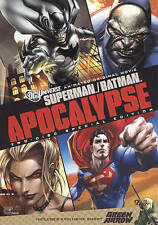 Superman/Batman:Apocalypse - DVD Brand New in Plastic Free Shipping