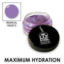LIP INK Organic Tinted Lip Balm Moisturizer - Tropical Violet - 3