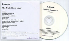 LEMAR The Truth About Love UK numbered promo test CD Mica Paris