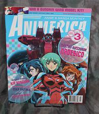 Animerica Magazine Vol 8 Issue 3 OOP Nadesico Kia Asamiya Gundam Anime Manga