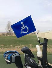 Handicap Golf Cart Flag and Mount. Golf cart flag mount.