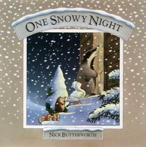 Percy the Park Keeper: One snowy night: Collection by Nick Butterworth