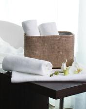 HAND TOWEL 50 x 100 CM GUEST BATHROOM FACE TRAVEL GYM WAFFLE PIQUE LOOPS COTTON