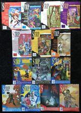 VINTAGE Strip Magazine (Lot of 14) Marvel Comics UK - Marshall Law - POSTER incl