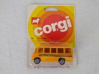 Corgi Juniors No 15 Mercedes Benz School Bus 1978 Sealed on Card Free Postage