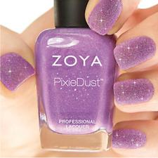 Zoya PixieDust Zp675 Stevie violet matte sparkle nail polish lacquer Pixie Dust
