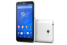 """Teléfonos móviles libres Sony color principal blanco 5,0-5,4"""""""