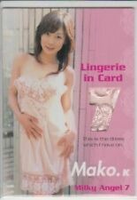 2006 A'CLASS MILKY ANGEL VOL.7 L-11 MAKO KATASE LINGERIE IN CARD 162/280  JAV