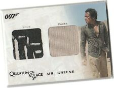 James Bond Archives 2009 - QC07 Mr Greene's Shirt & Pants Costume Card 419/725