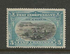 BELGIAN CONGO - ETAT INDEPENDANT DU CONGO  COB 14 MNH ** SCARCE