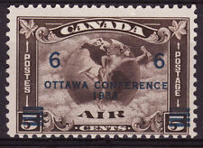 Canada 1932 Airmail with Ottawa Conference 6c overprint, Scotts #C4, MNH