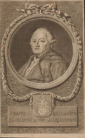 Portrait XVIIIe Franz Balthasar Schönberg von Brenkenhoff Friedrich II Preußen