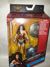 "WONDER WOMAN 6"" DC COMICS MULTIVERSE ACTION FIGURE, Mattel, 2016. New Sealed!!"