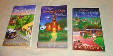 lot 3 JENNIFER STANLEY paperbacks HOPE STREET CHURCH mysteries