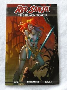 Red Sonja: The Black Tower (Dynamite Entertainment, 2015) 9.2 NM- TPB