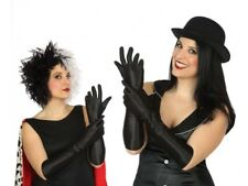 GANTS Longs Noir 40cm Déguisement Femme Costume Charleston Star Mariage