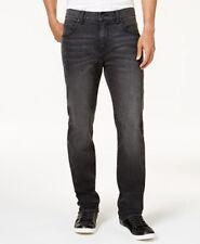 $108 CLUB ROOM Men's BLACK JEANS STRAIGHT FIT CASUAL LEG DENIM PANTS 31W 30L