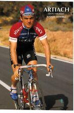 CYCLISME carte cycliste ALFONSO GUTIERREZ équipe ARTIACH 1993