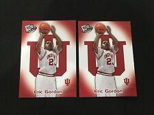 (2) ERIC GORDON ROOKIES COLLEGE INDIANA / HOUSTON RC 2008 BASKETBALL CARDS