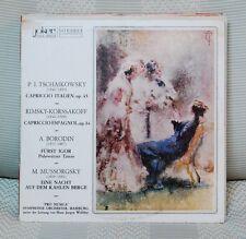 P. I. TSCHAIKOWSKY*, RIMSKY-KORSSAKOFF*, A. BORODIN*, M. MUSSORGSKY  LP N. 2427