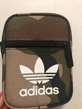 ADIDAS Fest Essentials Crossbody Bag Adult One Size Camo Tan Green Fanny Sling